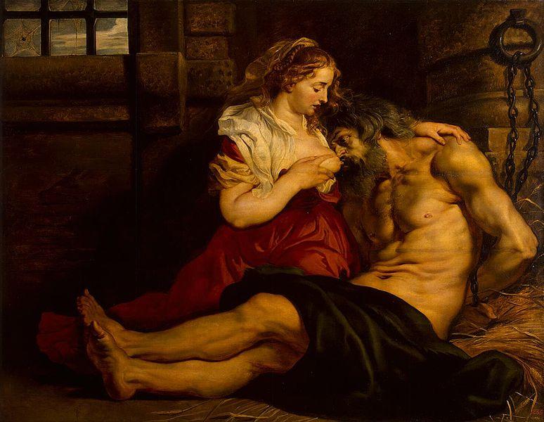 Rubens 'Caritat Romana' (1612)
